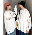 tシャツ Tシャツ 【neos -addictive design-】別注 BT21 UNIVERSTAR ビッグシルエット スリーブ バックプリント